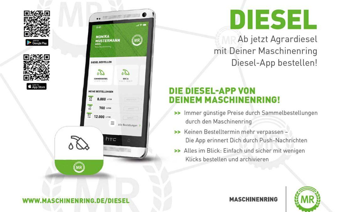 MR-Diesel App verfügbar
