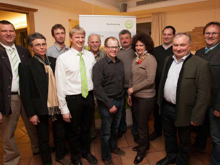 Die Vorstandschaft Maschinen- und Betriebshilfsring Starnberg e.V.